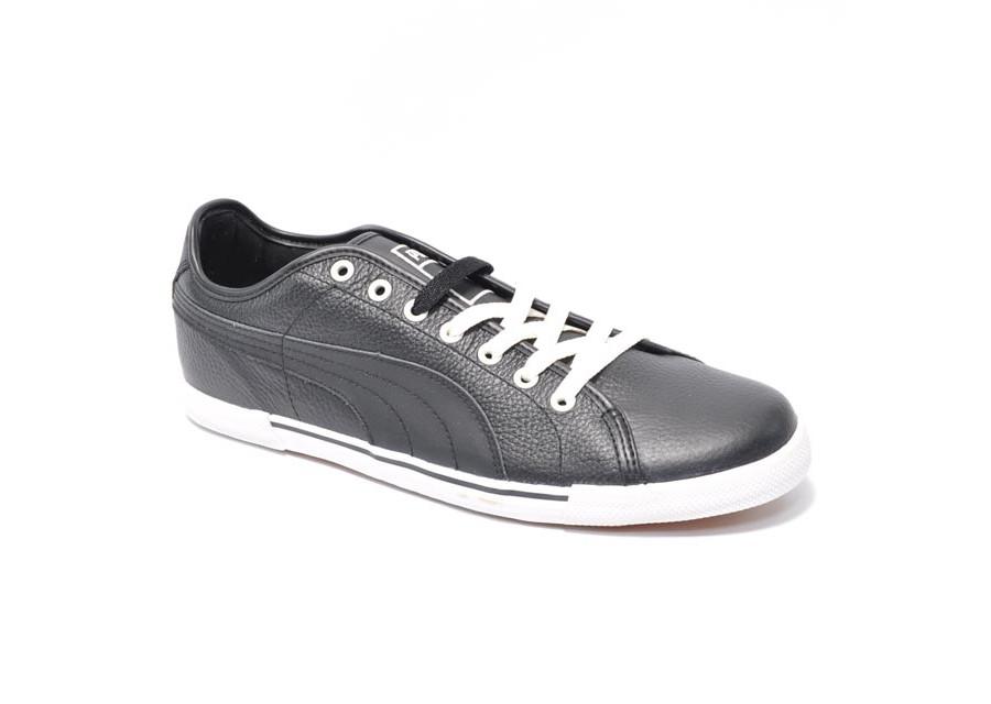 Benecio Leather Black
