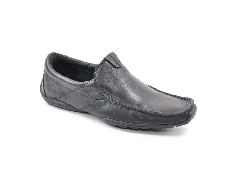 Marlow Black Leather