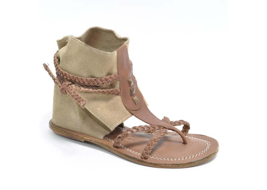 Bootie Sandal Brown