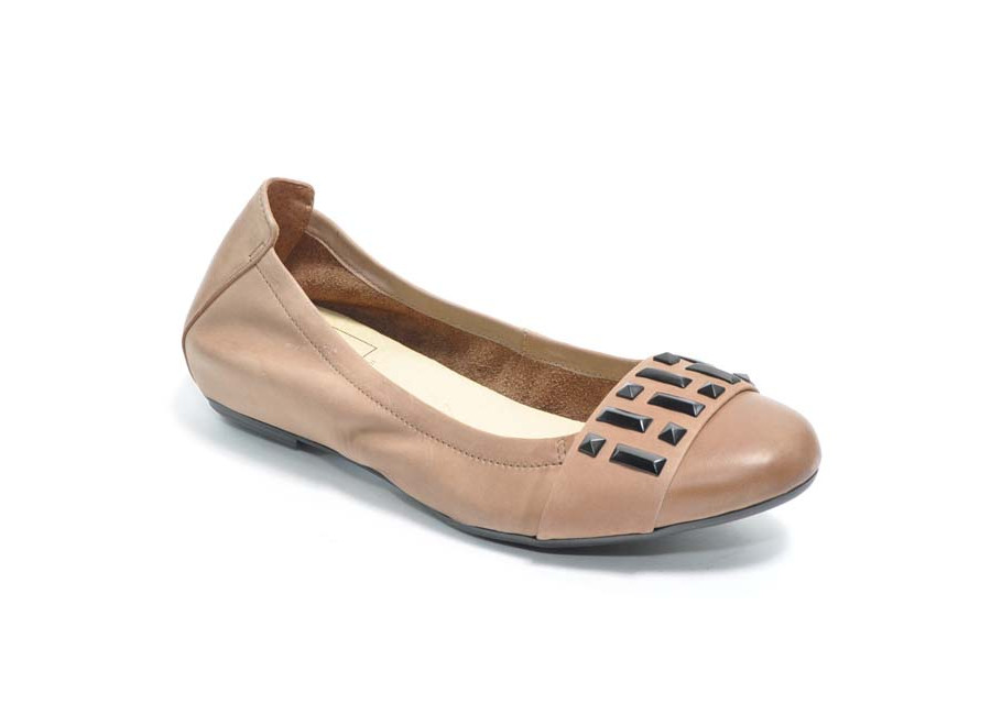 Ballerines Sable en Cuir