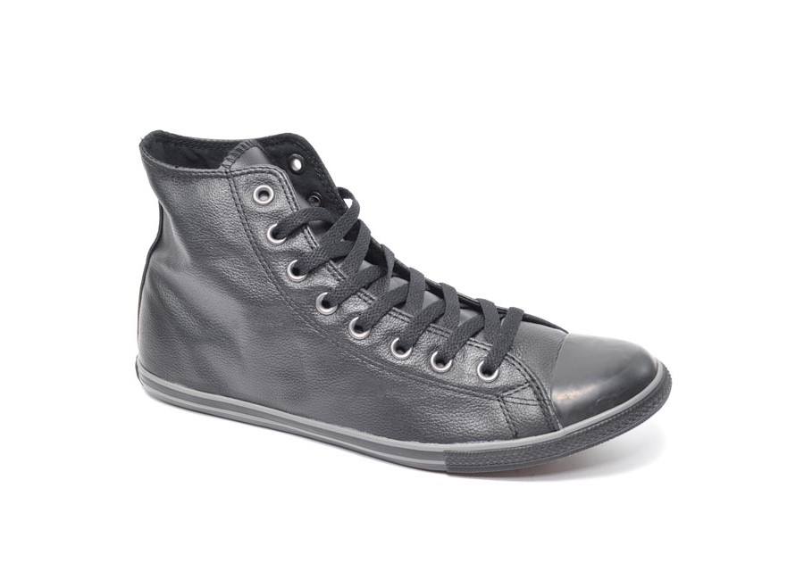 Chuck Taylor Slim Hi Leather Black