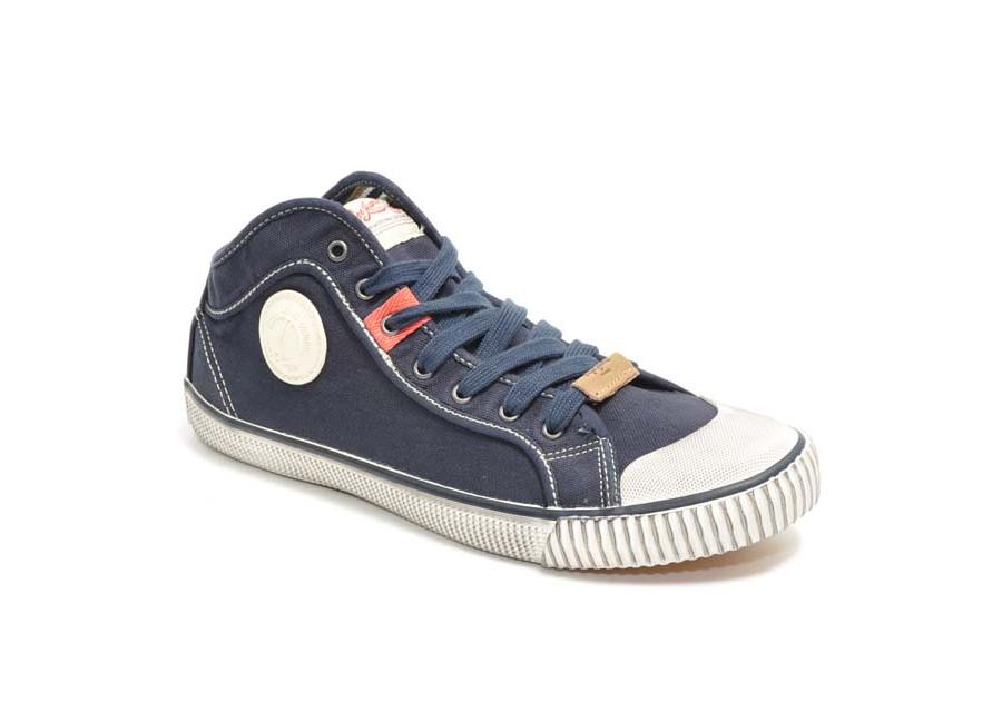 Halb-hohen Sneakers