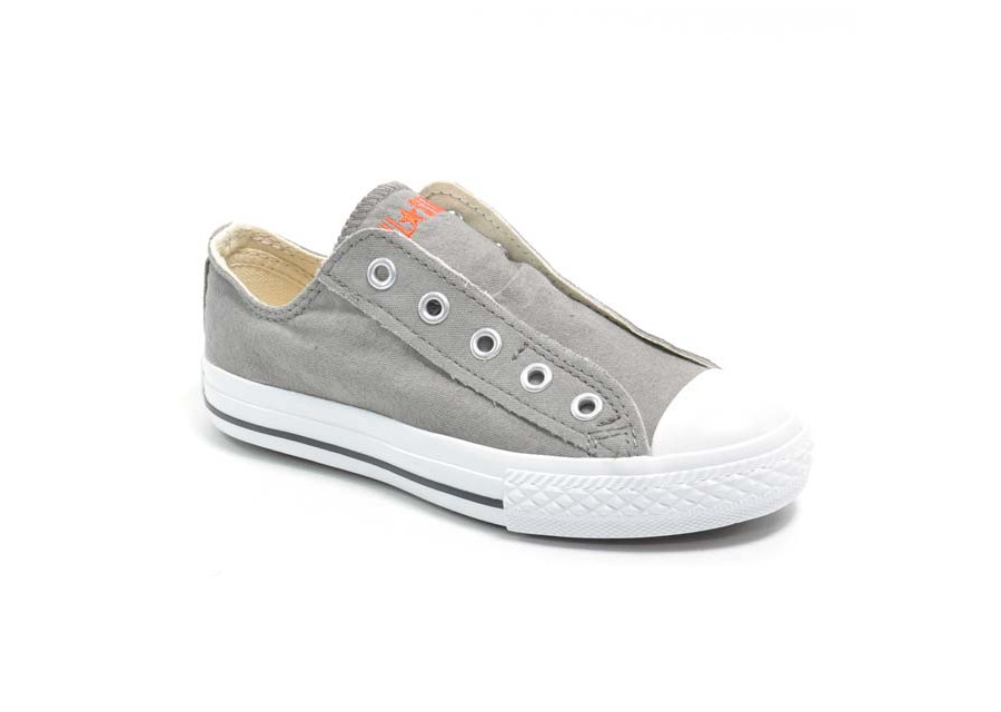 All Star Slip Kids Charcoal