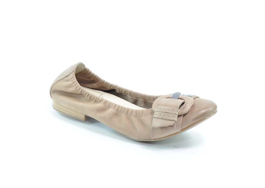 Nubuck-Leder Ballerinas