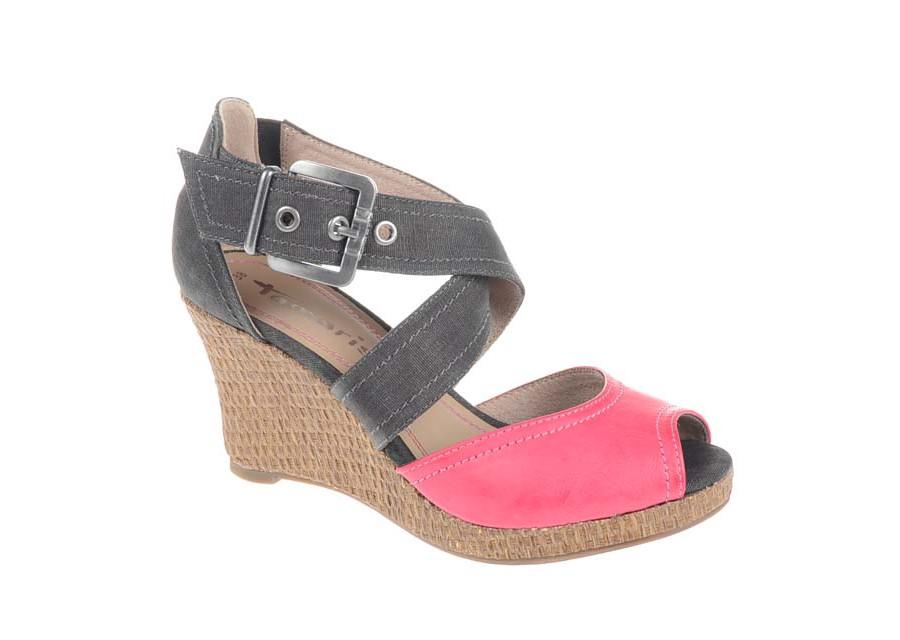 Wedges Schuhe mit Schnallen