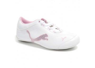 Soleil Bling JR White Pink Lady